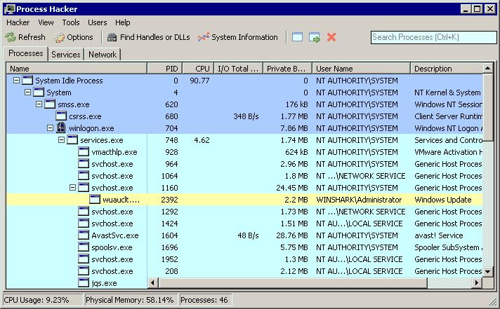 Unduh Program Process Hacker v2.36 Gratis Full Version Untukmu Selamanya Pokoknya Serius Gua Bro Sis yang Tampan dan Manis