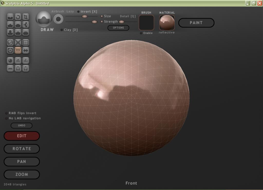 Sculptris - The Portable Freeware Collection