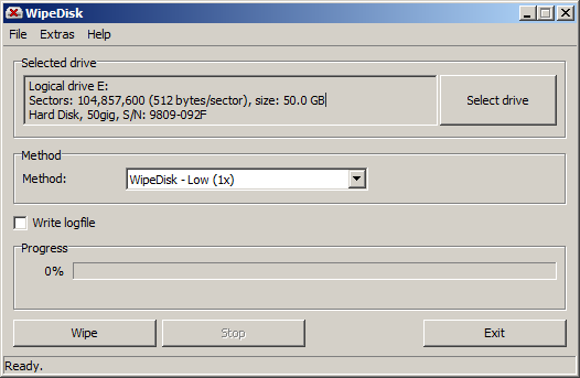 WipeDisk - The Portable Freeware Collection