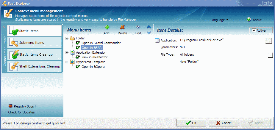 Fast Explorer 2008 - The Portable Freeware Collection