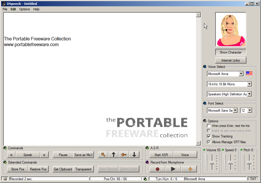 Others - Text-to-Speech - The Portable Freeware Collection