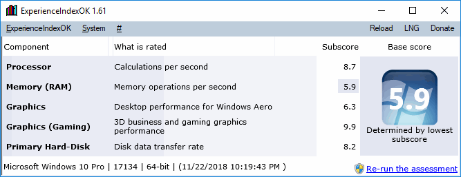 System - Benchmark - The Portable Freeware Collection