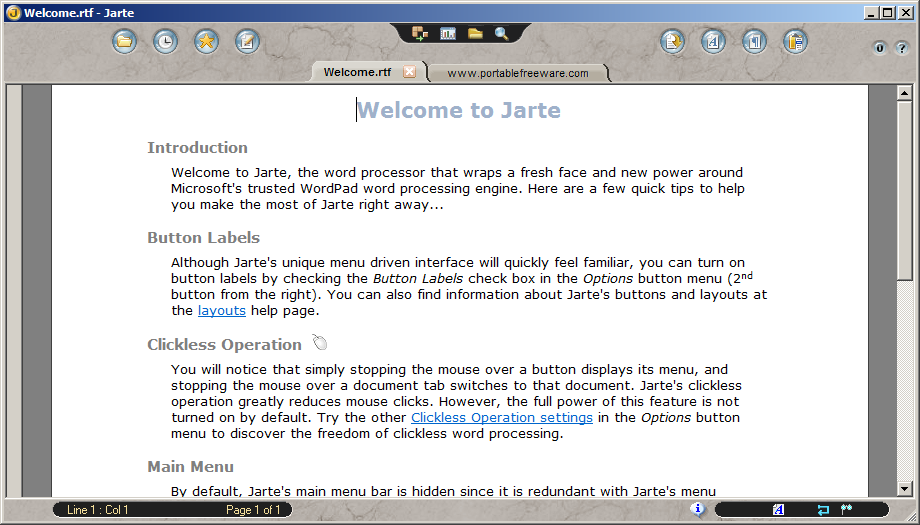 Jarte - The Portable Freeware Collection