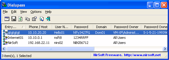 Security - Password Recovery - The Portable Freeware Collection