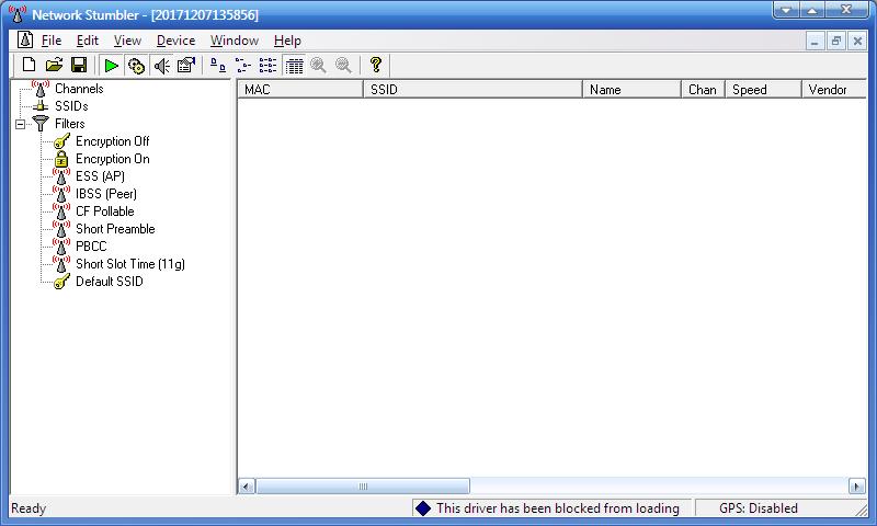 netstumbler para windows xp