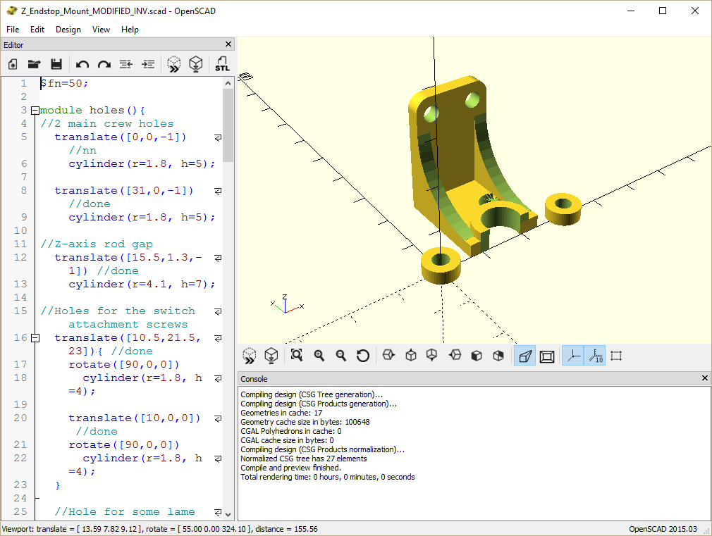 Openscad - The Portable Freeware Collection