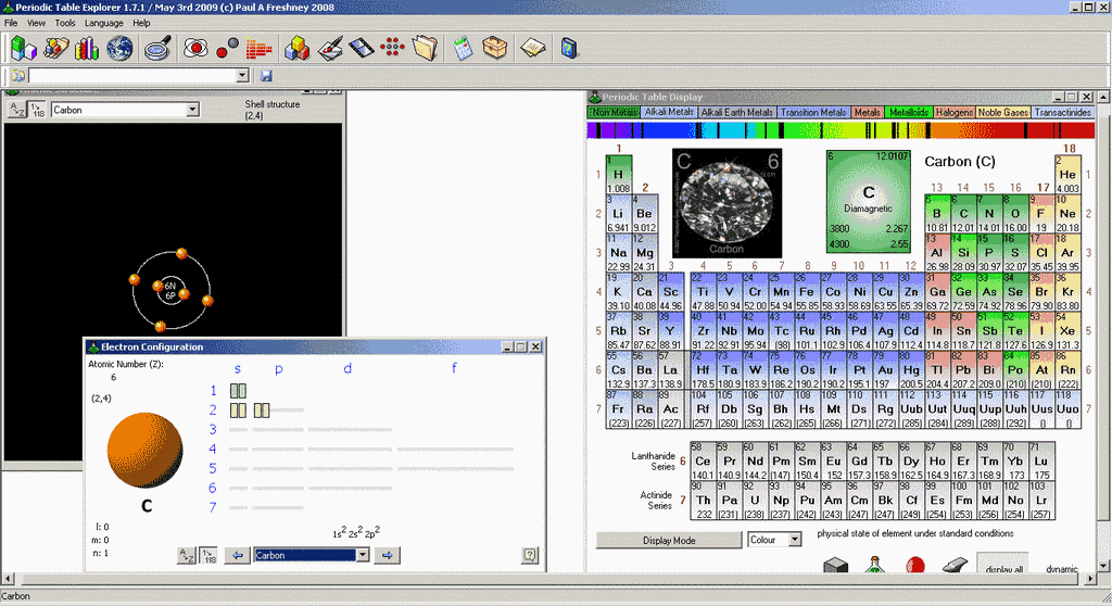 Periodic table explorer the portable freeware collection open urtaz Choice Image