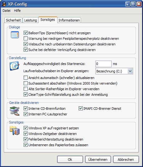 System - Installation/Configuration - The Portable Freeware