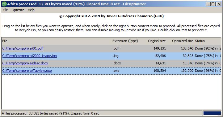 Files - Compression/Decompression - The Portable Freeware Collection