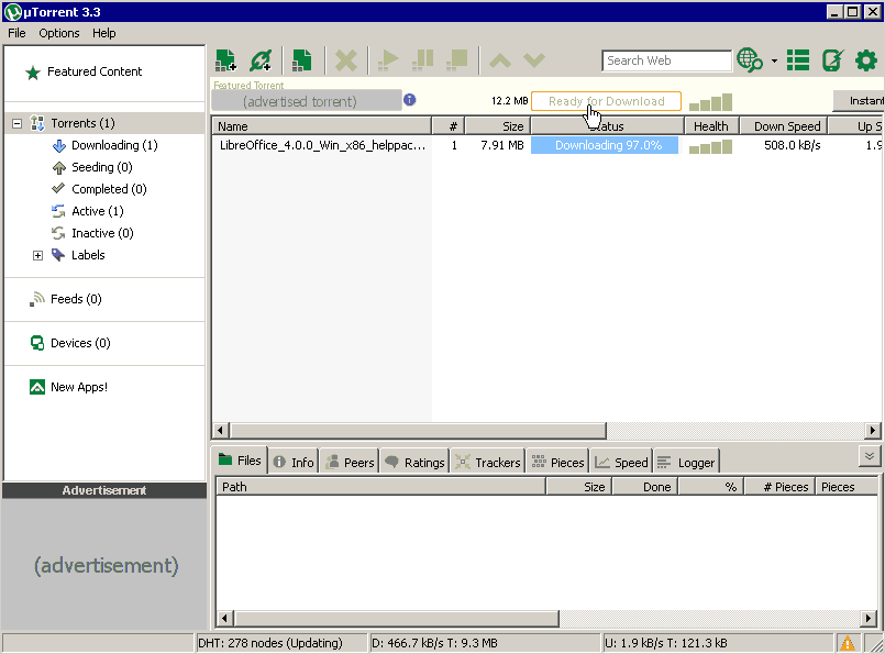 µTorrent - The Portable Freeware Collection