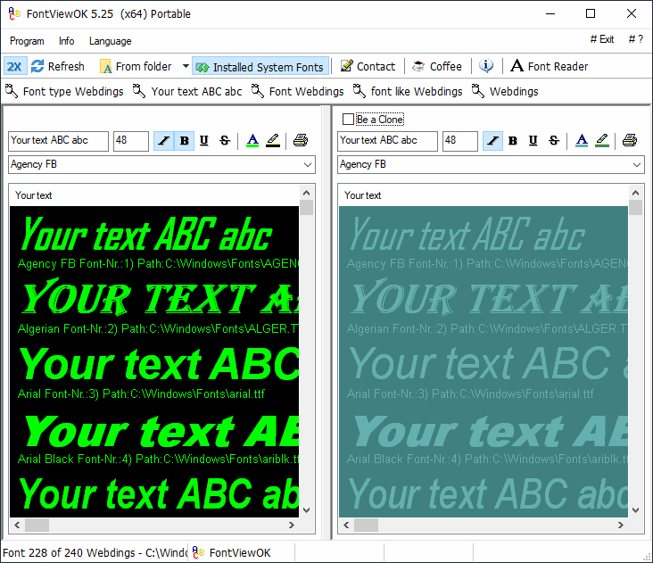 System - Font Tools - The Portable Freeware Collection
