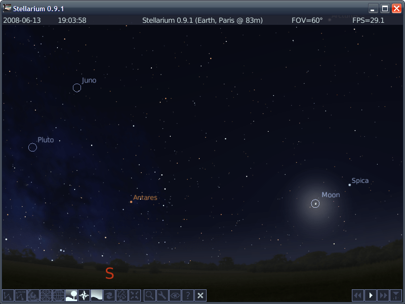 Stellarium Portable - The Portable Freeware Collection