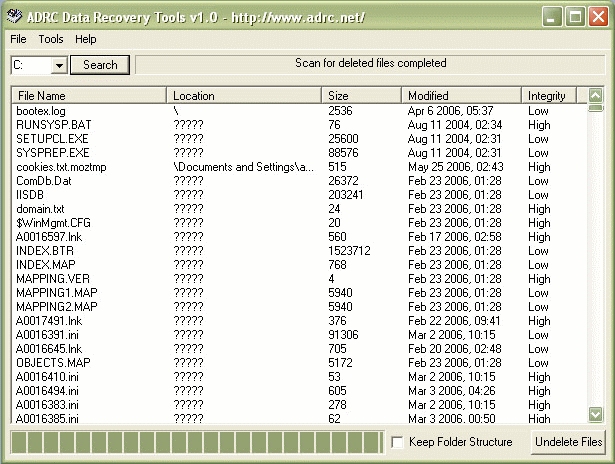 Files - Recovery - The Portable Freeware Collection
