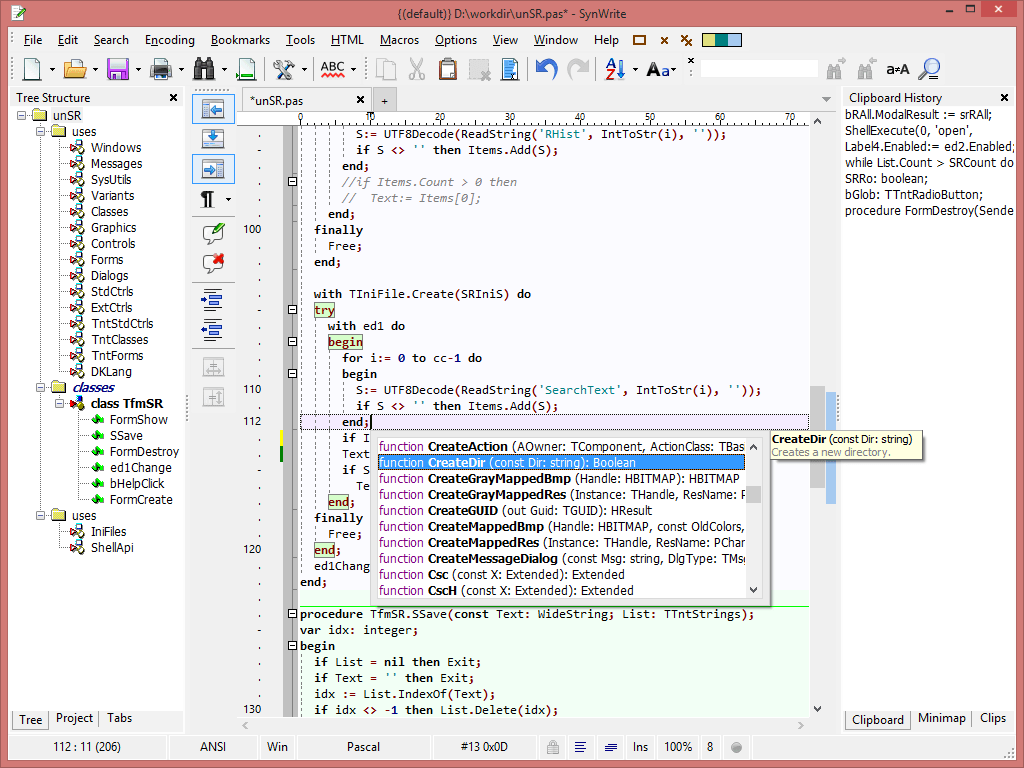 Text Editors The Portable Freeware Collection Clip Files Clipboards 1701 Website Download 32 Bit Screenshot