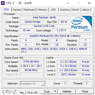 CPU-Z - The Portable Freeware Collection