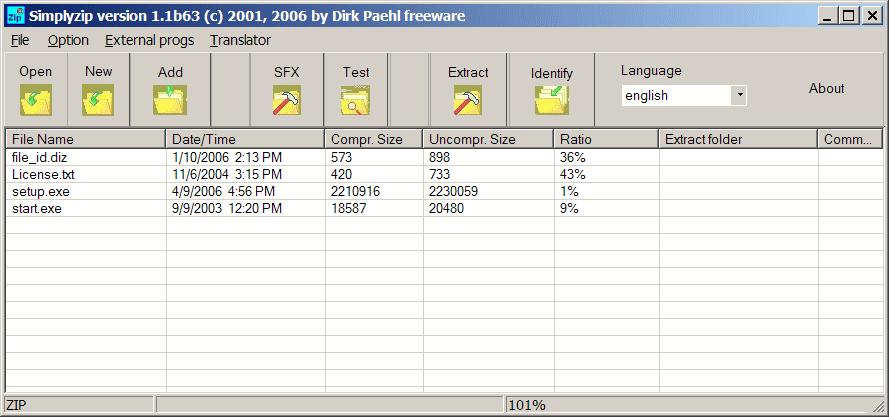 Files - Compression/Decompression - The Portable Freeware
