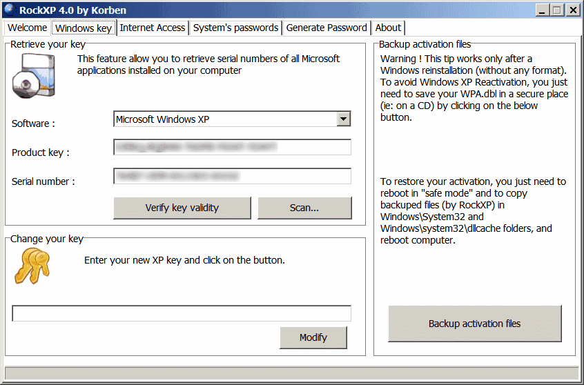 Security - Product Key Recovery - The Portable Freeware