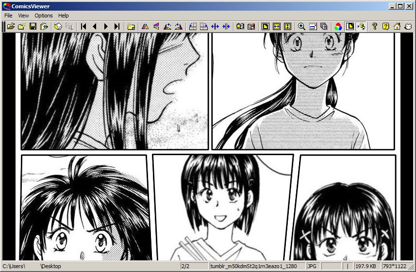 ComicsViewer - The Portable Freeware Collection