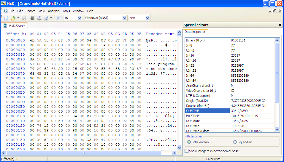 hex editor portable apps